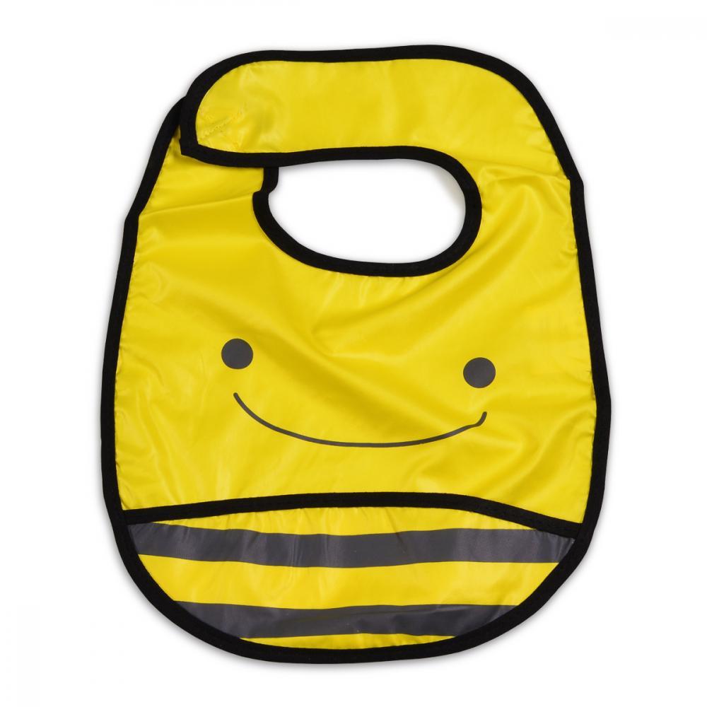 Bavetica impermeabila cu scai Baby Bib Bee