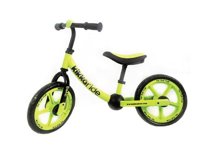 Bicicleta fara pedale Ben1 Yellow Lime