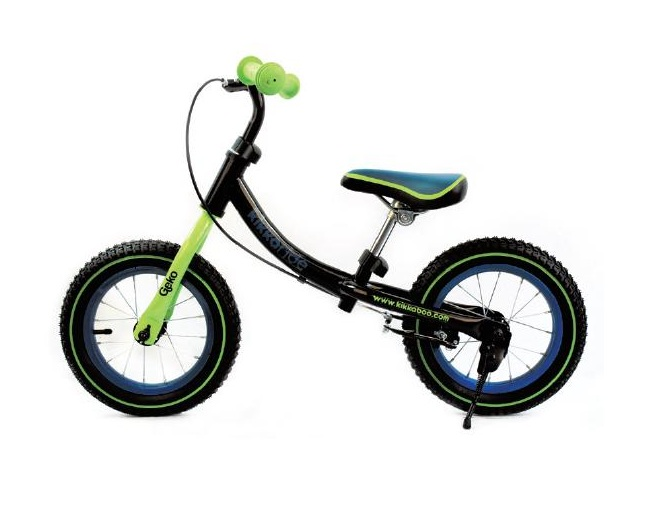 Bicicleta fara pedale Geko Green Blue