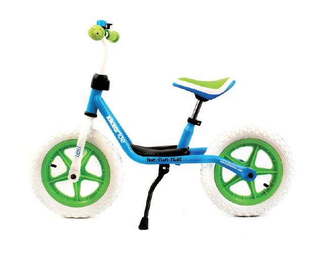 Bicicleta fara pedale Lerr BlueGreen