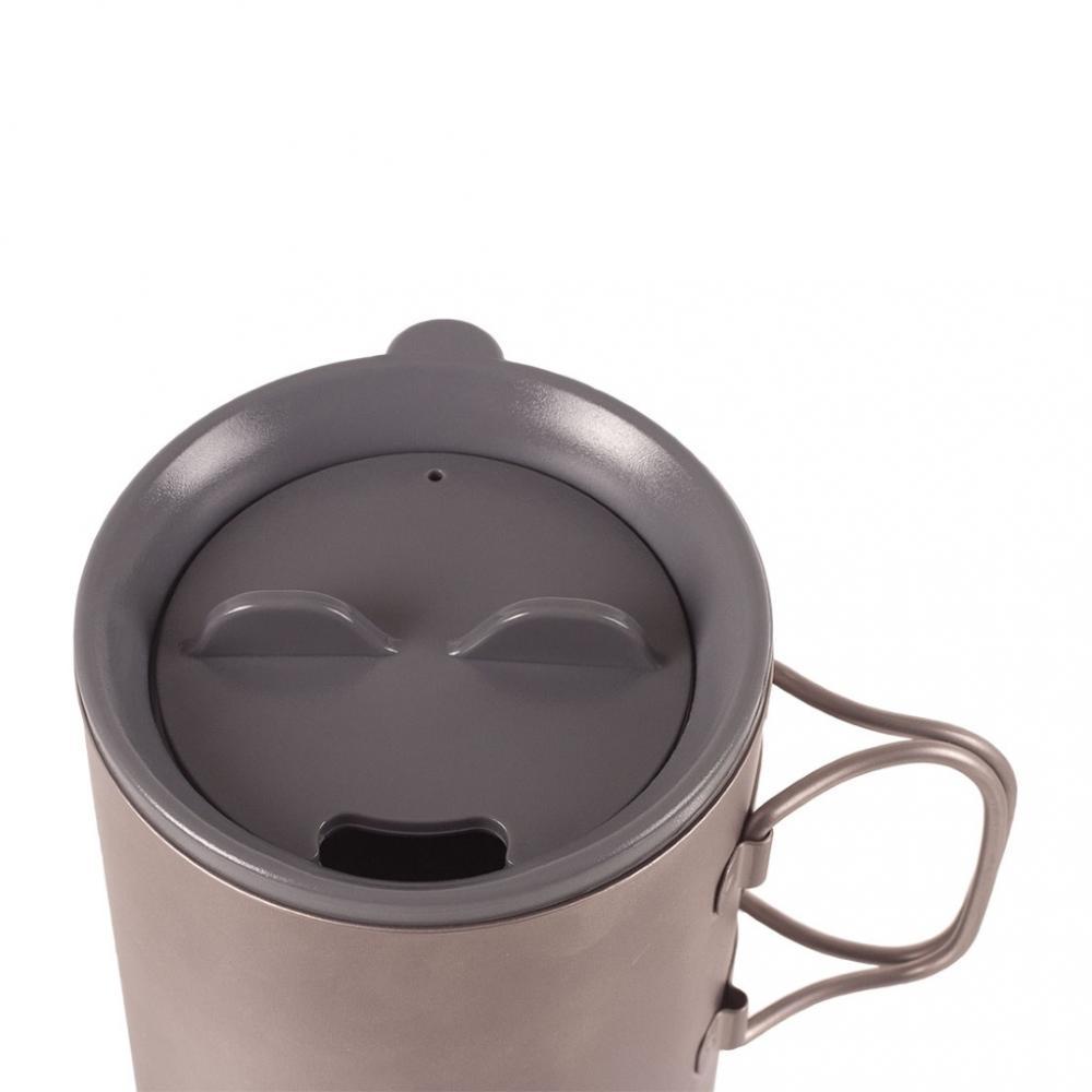 Cana termica Titan 450 ml cu capac plastic