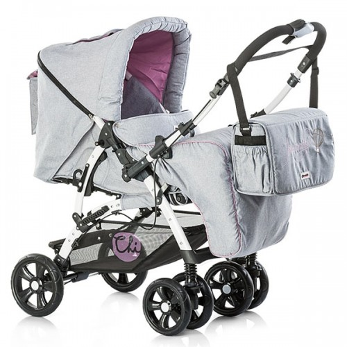 Carucior Chipolino Dakota 2 in 1 pink