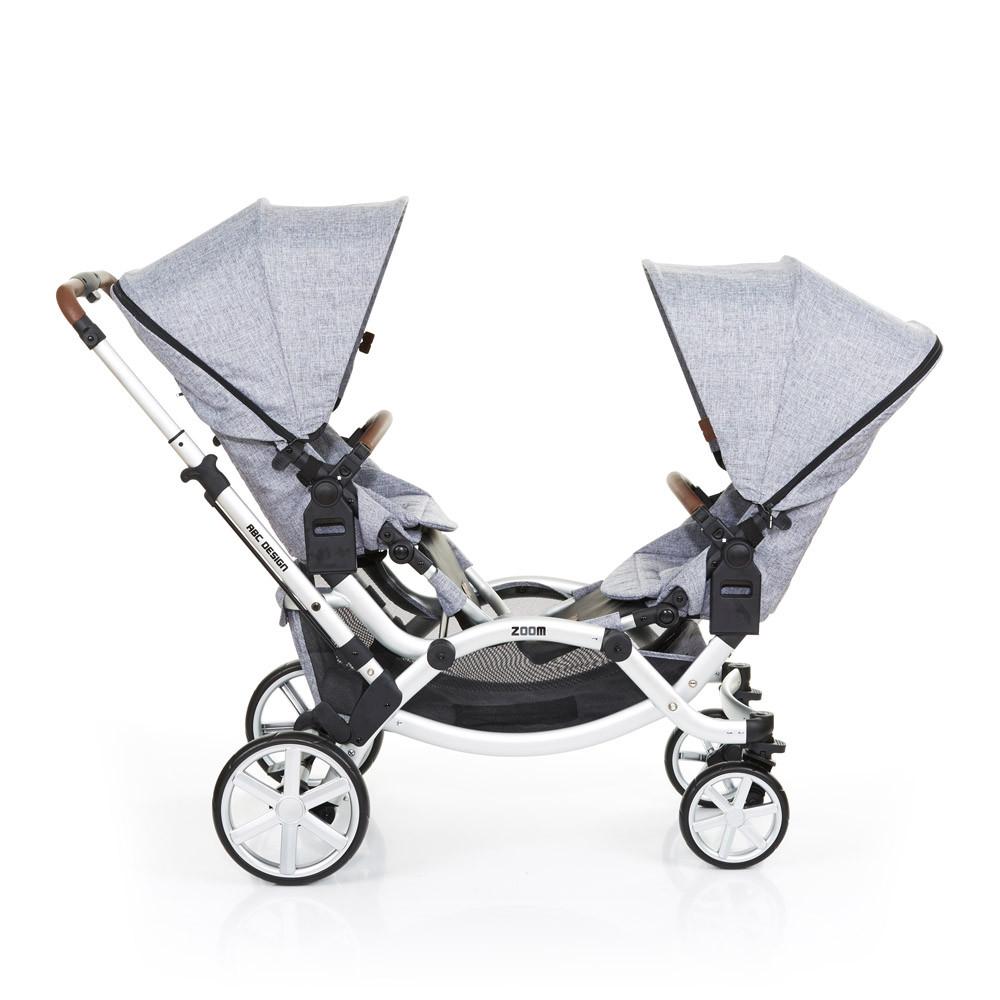 Carucior Gemeni Zoom Style Graphite Grey Abc Design 2017