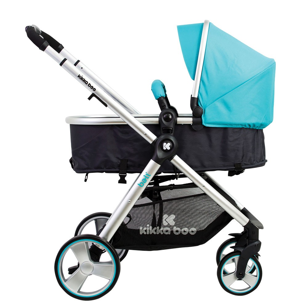 Carucior transformabil 2 in 1 Bali Blue Baltic