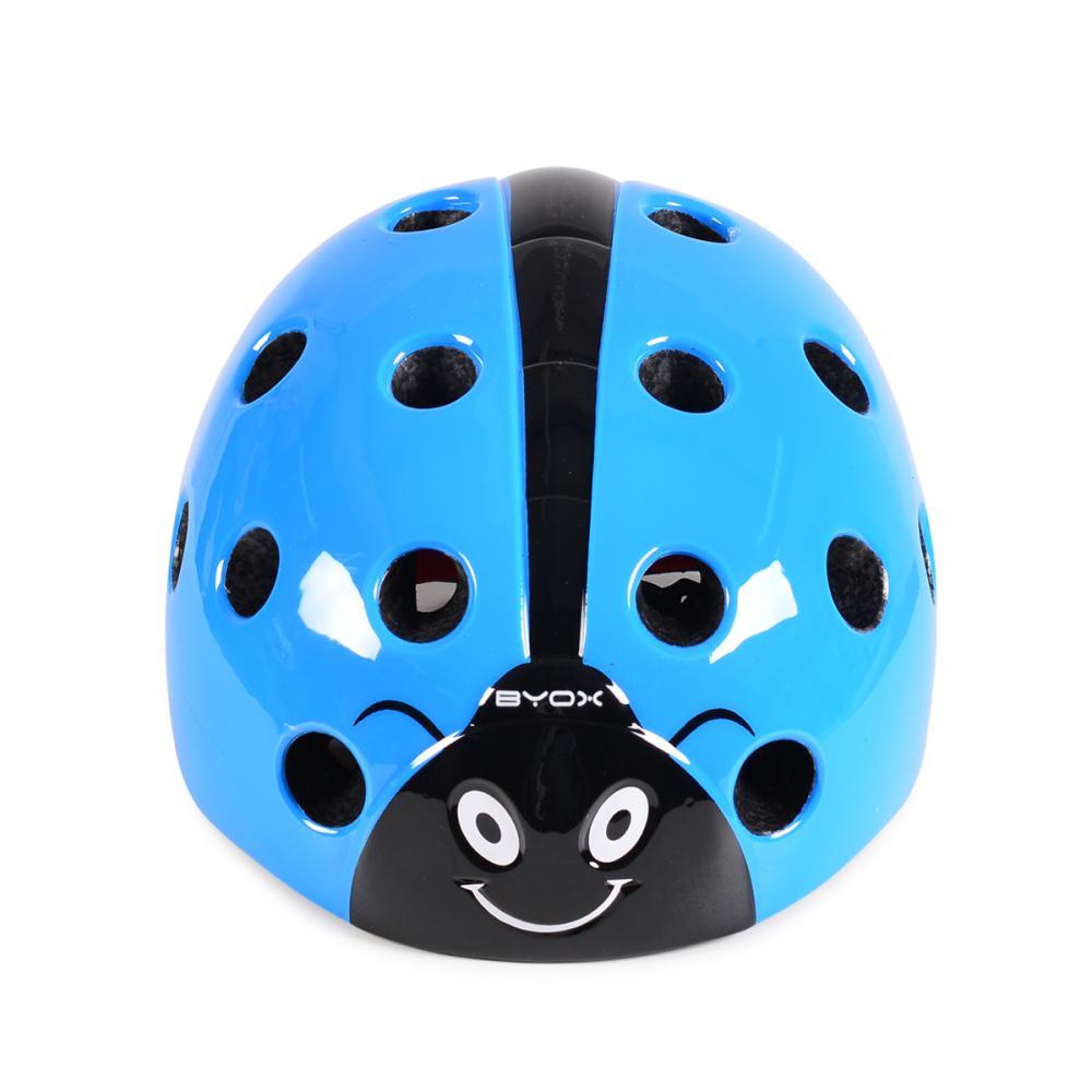 Casca de protectie Ladybug Blue 58-62 cm