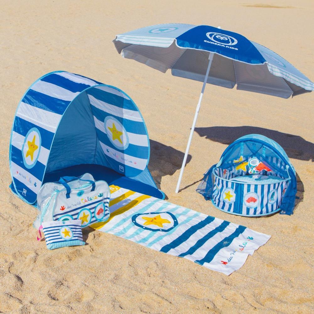Cort protectie solara UV pentru plaja