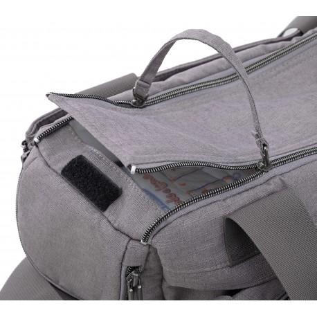 Geanta mamici Dual Bag pentru Quad Derby Grey