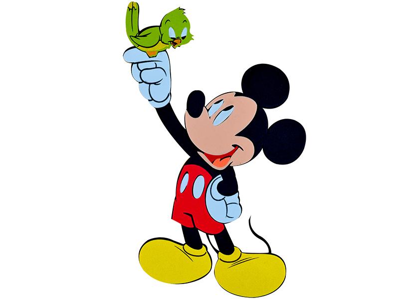 Decoratiune din burete copii Mickey srmk-009