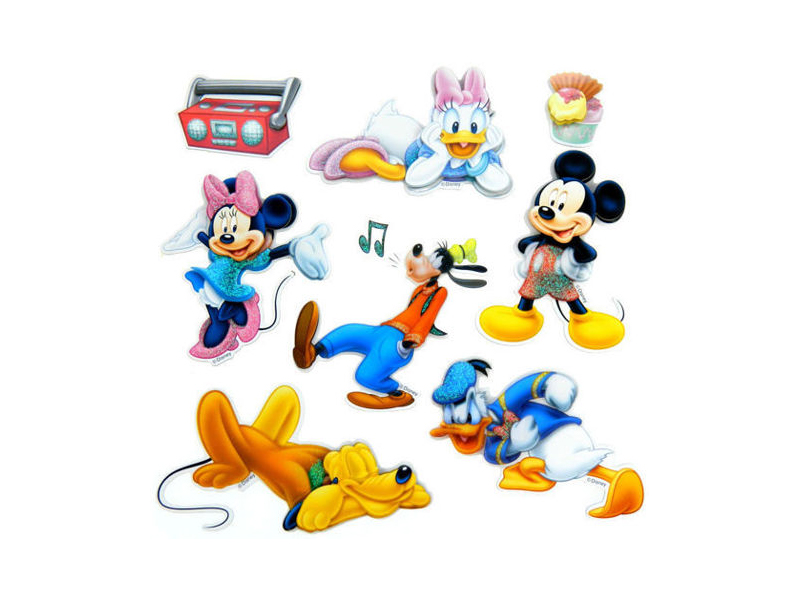 Decoratiune din burete pentru camera copii Mickey sph-112 imagine