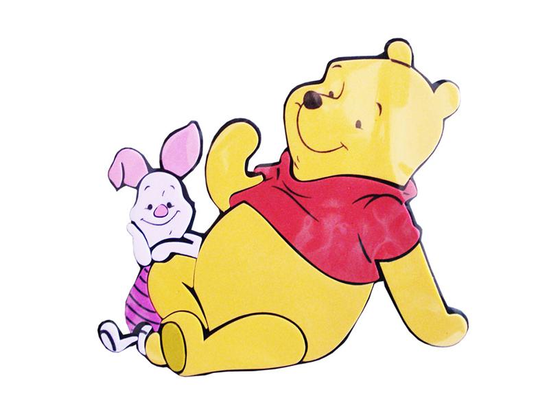 Decoratiune din burete pentru camera copii Winnie srdf-1041