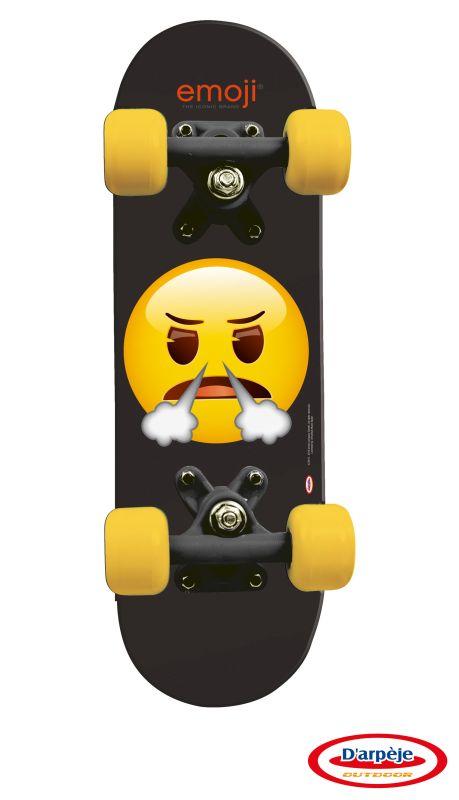 Mini skateboard Emoji 43 cm imagine