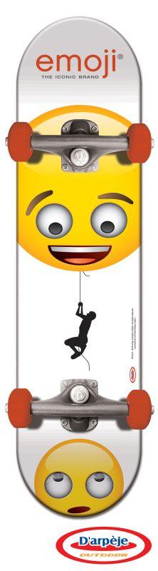 Skateboard Emoji 79 cm imagine