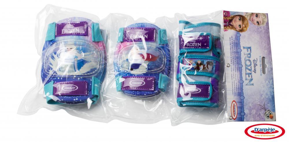 Set protectie Frozen genunchiere, cotiere, protectie incheieturi din categoria La Plimbare de la DArpeje