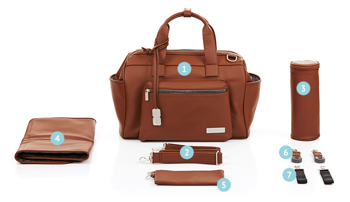 Geanta Style Brown Abc Design 2018