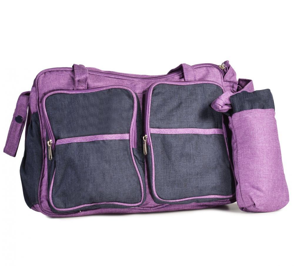 Geanta pentru carucior Mama Bag Jenny Purple