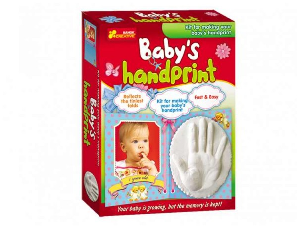Joc pentru copii Amprenta mainii copilului Ranok
