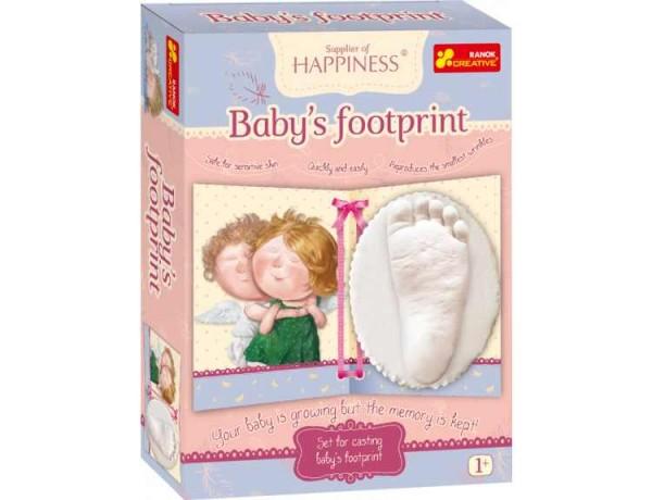 Joc pentru copii Amprenta piciorului copilului Gapchinska imagine