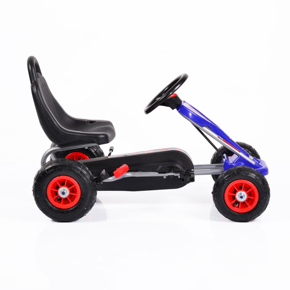 Kart cu pedale cu roti gonflabile Falcon Blue imagine
