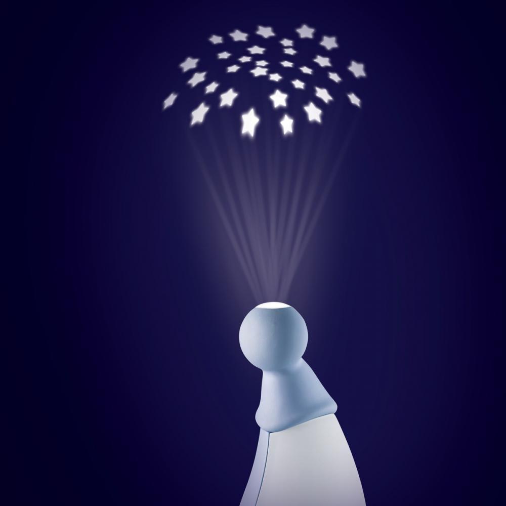 Lampa Pixie Str Gri Bleu