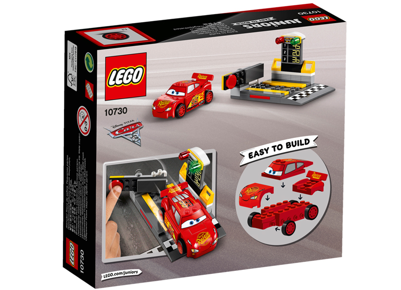 Lansatorul de viteza Fulger McQueen (10730)