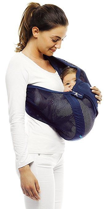 Marsupiu Sling Air True blue Wallaboo