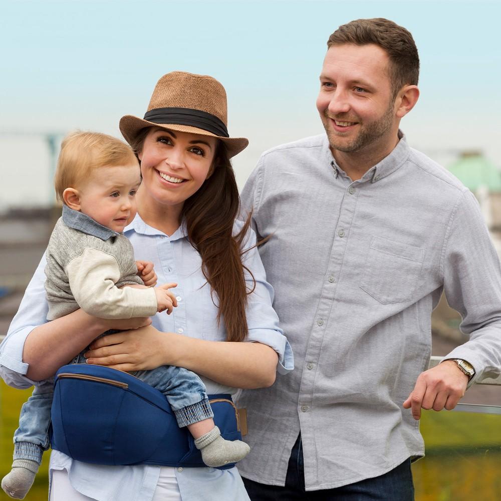 Marsupiu ergonomic pentru bebelusi si copii multiple pozitii Clevamama