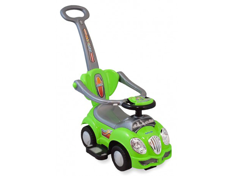 Masinuta de impins copii 2 in 1Baby Mix HZ558 verde imagine