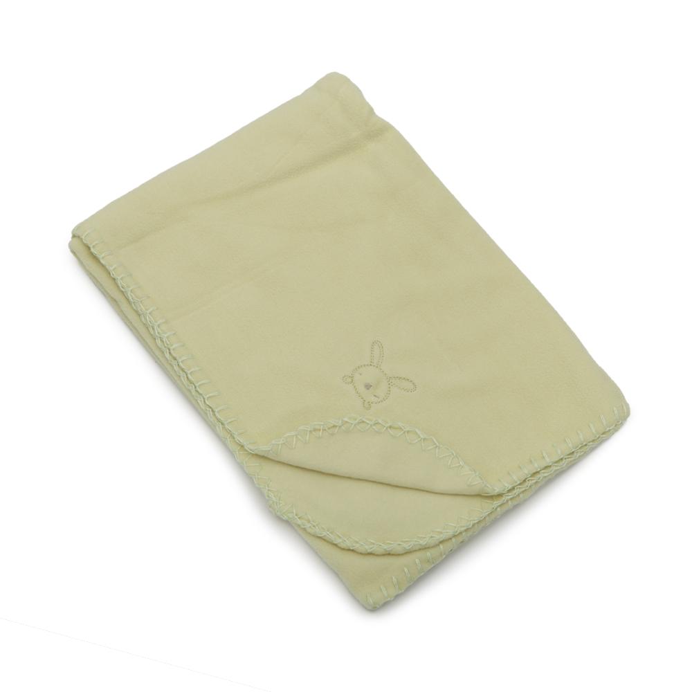 Paturica bebelusi fleece Silky Green