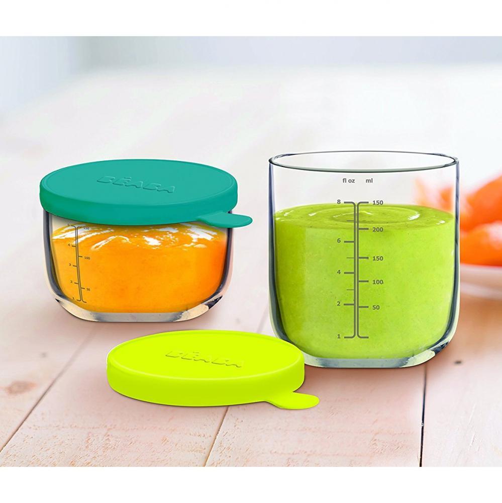Recipient ermetic sticla 250 ml Neon