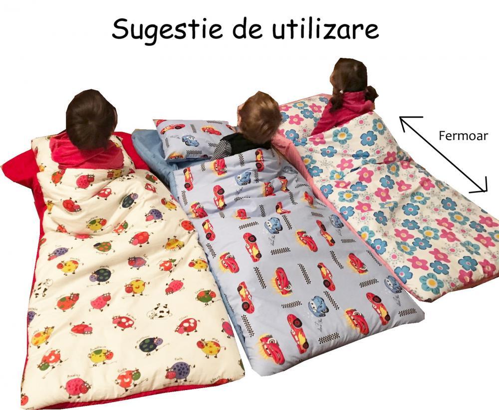Sac De Dormit Buzunar 4-10 Ani