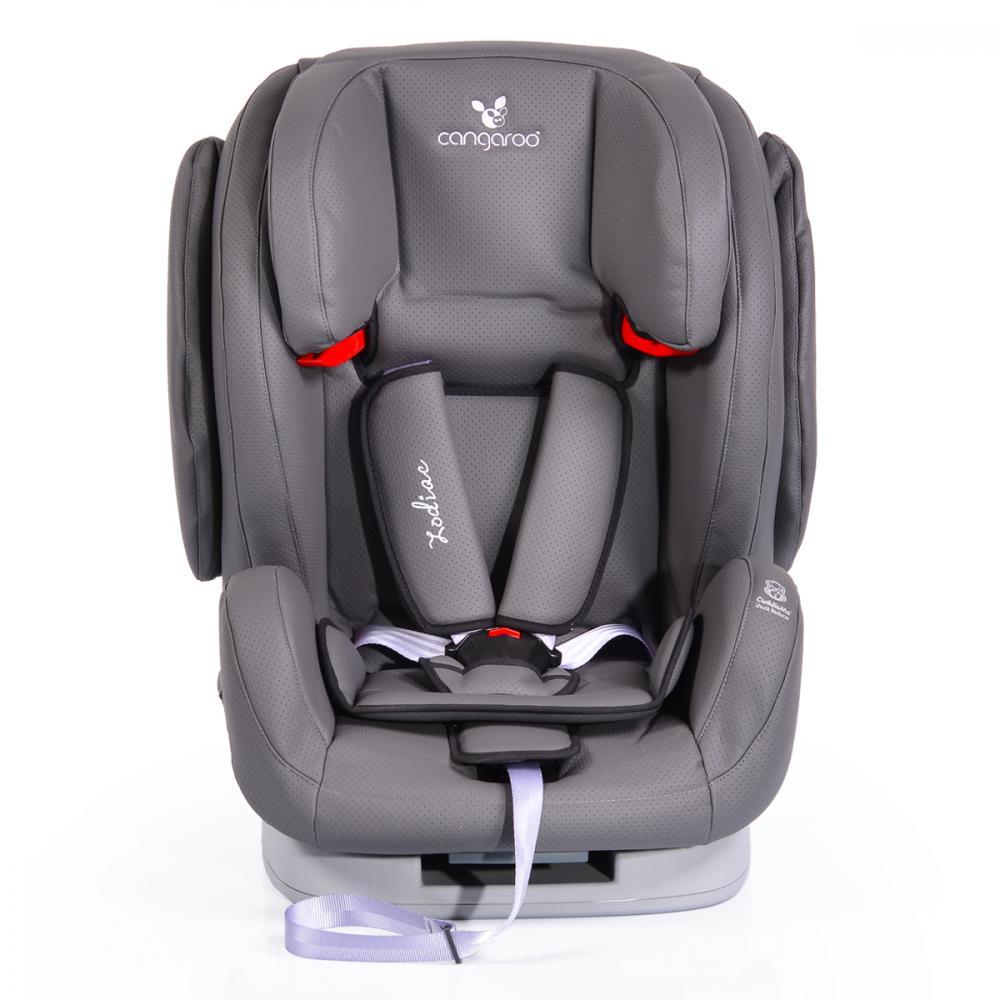 Scaun auto Cangaroo Zodiac Eco Leather Grey 9-36 kg