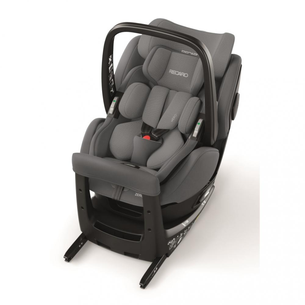 Scaun Auto pentru Copii Zero.1 Elite R129 Aluminium Grey