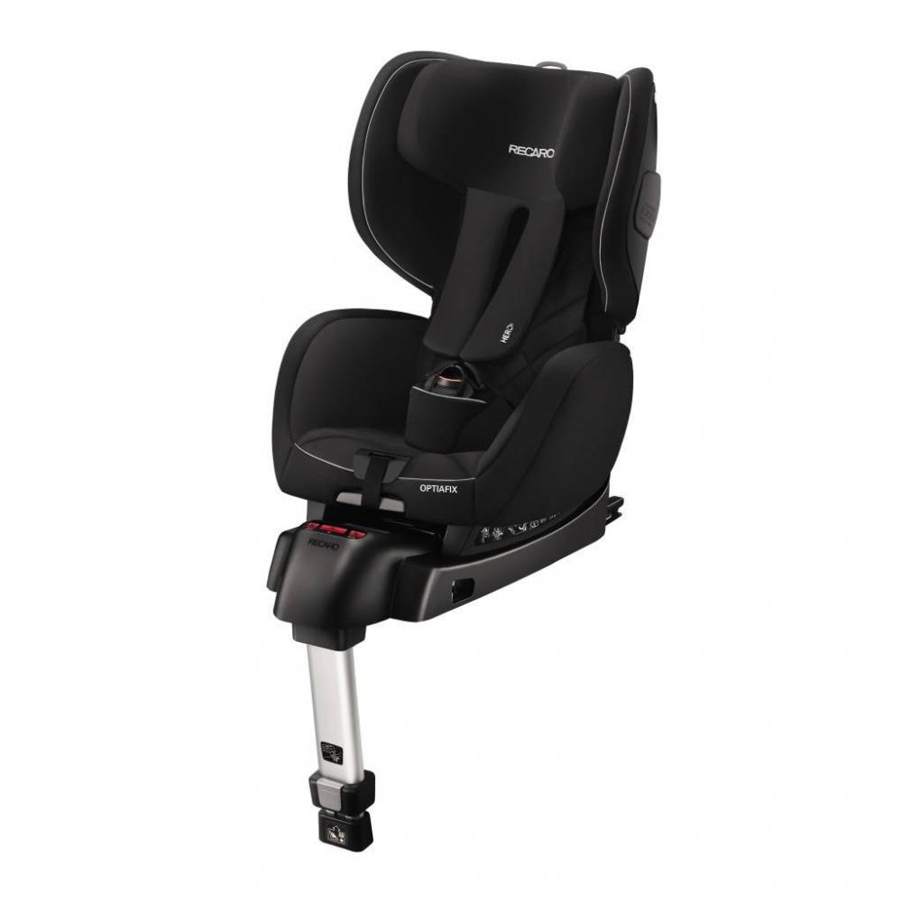 Scaun auto pentru copii cu isofix OptiaFix Performance Black