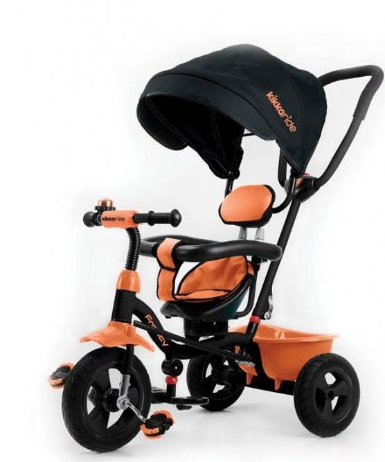Tricicleta pentru copii 3 in 1 Francy Orange