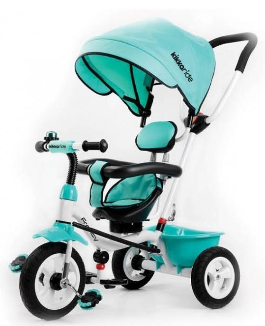 Tricicleta pentru copii 3 in 1 Francy Mint