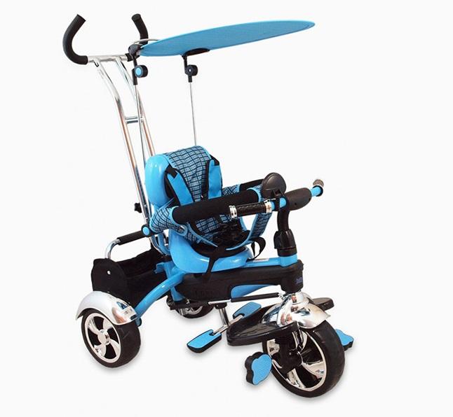Tricicleta copii Baby Mix GR01 blue imagine