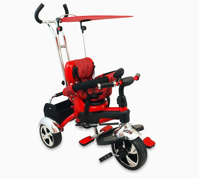 Tricicleta copii Baby Mix GR01 red din categoria La Plimbare de la BABY MIX
