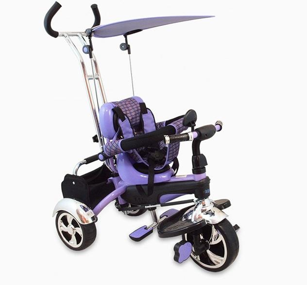 Tricicleta copii Baby Mix GR01 violet imagine