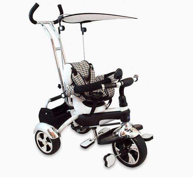 Tricicleta copii Baby Mix GR01 white imagine
