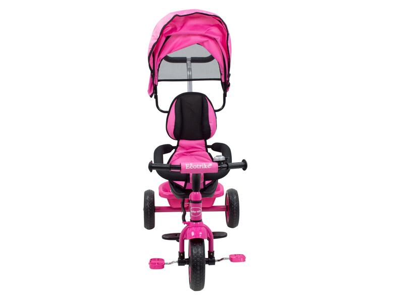 Tricicleta copii BabyMix Ecotrike 188199 roz imagine
