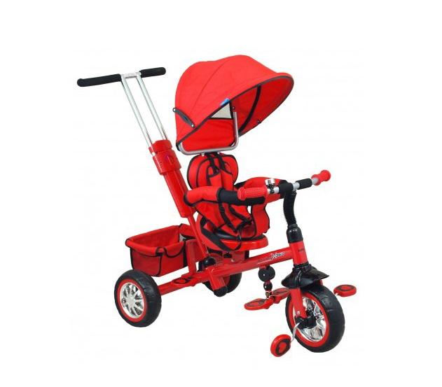 Tricicleta copii cu scaun reversibil Baby Mix UR-ETB32-2 rosu imagine