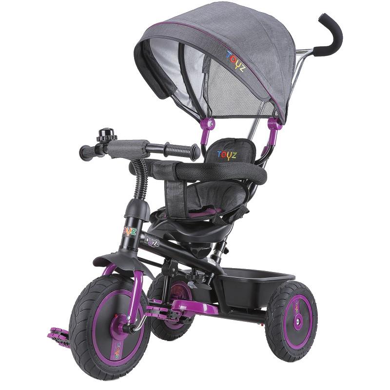 Tricicleta Cu Scaun Reversibil Toyz Buzz Purple