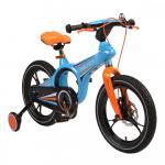 Bicicleta pentru copii 16 inch MO Magnesium Blue/Orange