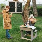 Birou banca scolari din lemn rezistent