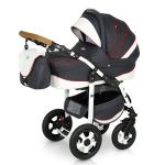 Carucior 3 in 1 Ride Dark Grey