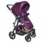 Carucior transformabil 2 in 1 Jasper Purple Mushrooms