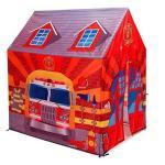 Cort pentru copii de joaca pentru interior sau exterior Garaj Pompieri Globo