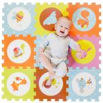 Covor puzzle din spuma pentru bebelusi