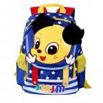 Ghiozdan textil copii albastru