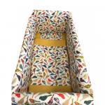 Lenjerie de pat Maxi Pasarele 120x60 cm